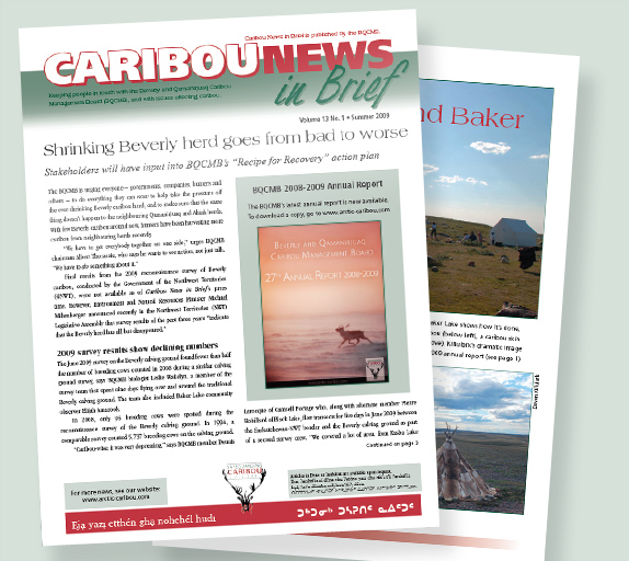 Caribou News in Brief newsletter